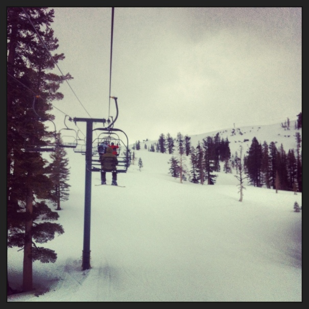 Forgot how much I love skiing and Kirkwood. It was so much fun.