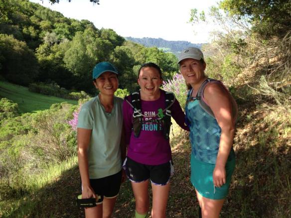 Me, KP, and AL at Briones Reservoir