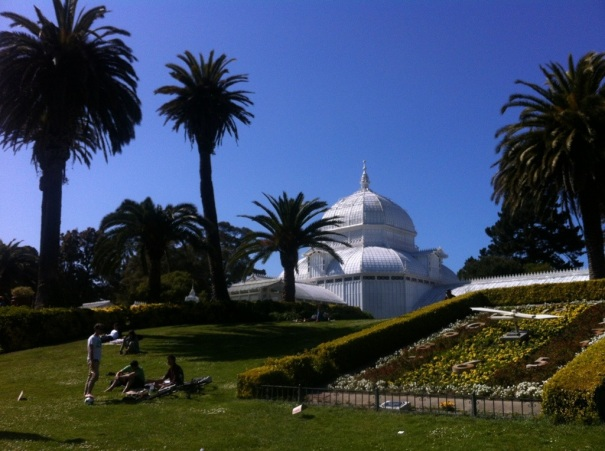 The Conservatory of Flowers.