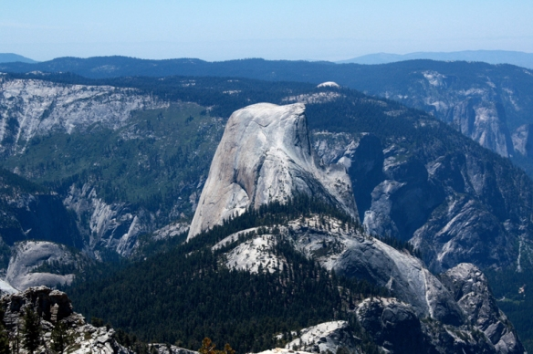 ... and this view of Half Dome.
