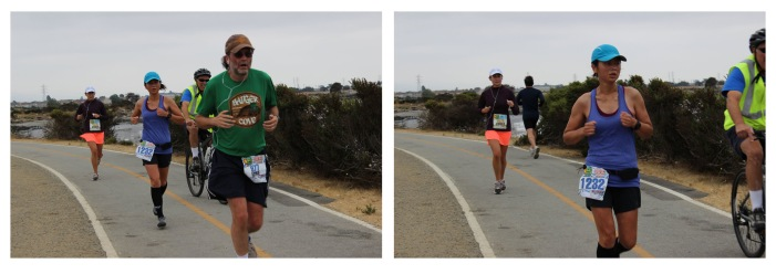Taken near the end of mile 5, I think. I eventually overtook the Badger Cove guy.