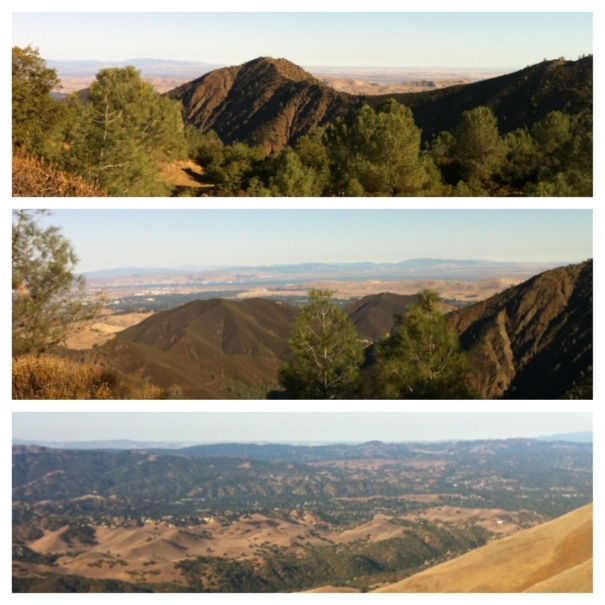 A sampling of the views from Mt. Diablo