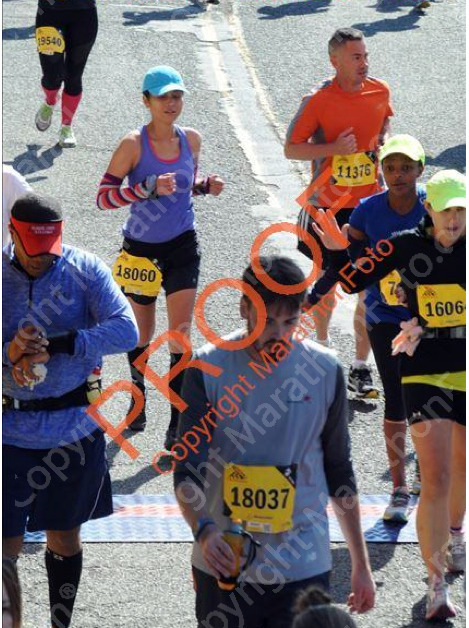 The most crowded finish line photo I'll probably ever be in.