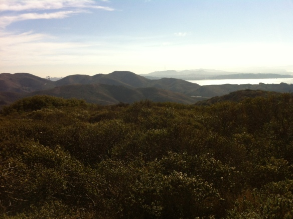 The payoff from elevation gains: awesome views.
