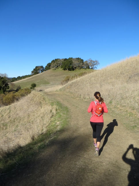 Through the rolling hills we go... (photo courtesy of Cathryn)