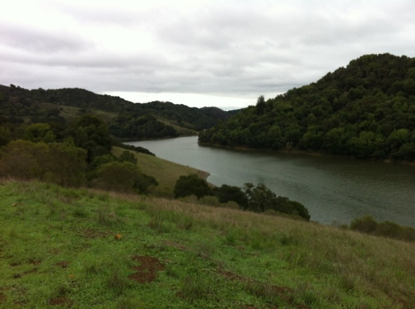 Upper San Leandro Reservoir...before the rains came