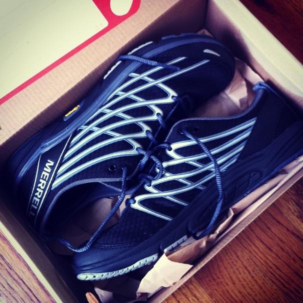 My new kicks!  I'm still breaking them in, but so far so good!