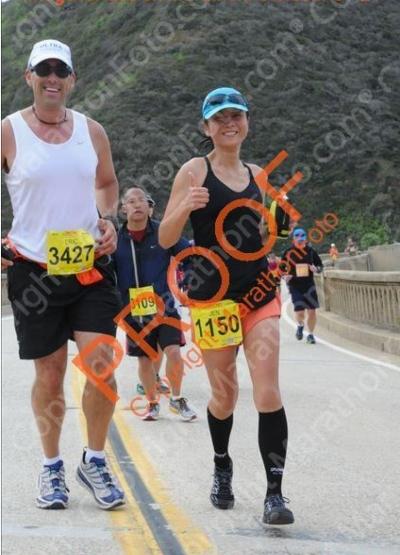 Thumbs up for Bixby Bridge!