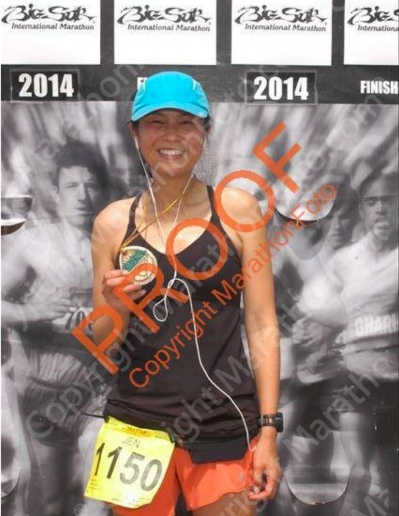 Proof! Official finisher!