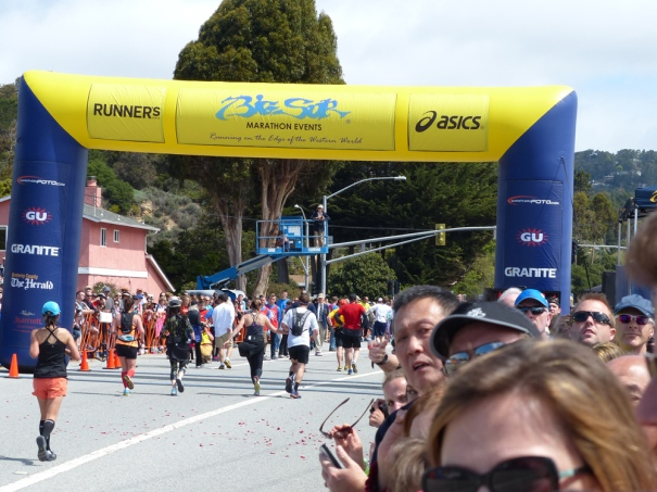 Heading for the finish! (Photo credit: Mike and Katie)