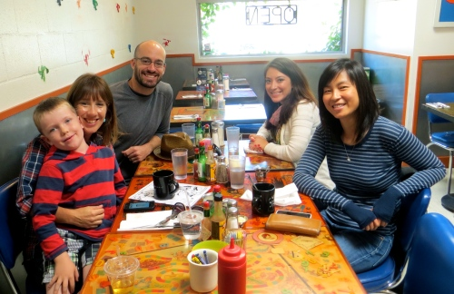 Yay for new IRL friends!  Photo courtesy of Cathryn.