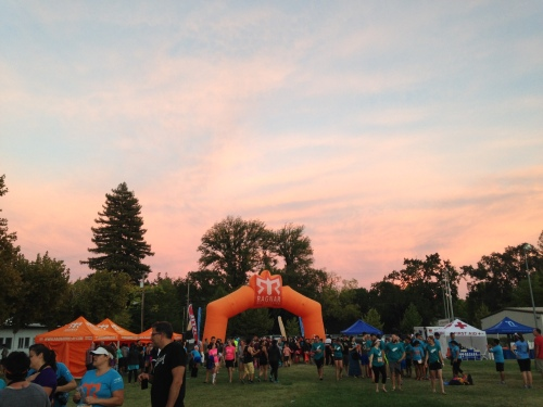 Sunset over Ragnar. (photo credit: Jess)