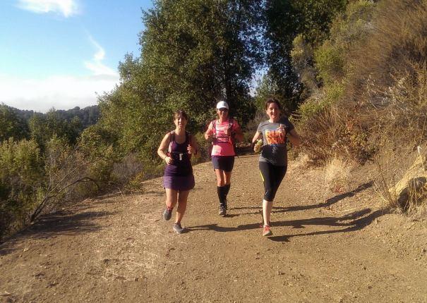 Running shots, continued. (photo credit: Angela)