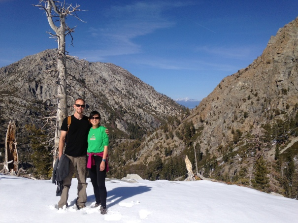 California drought conditions meant that we got to access Eagle Falls Trail in wintertime.