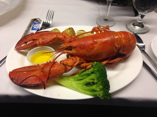On our last night, we got lobster!