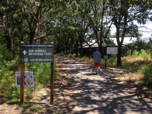 Embarking on the Joe Rodata Trail