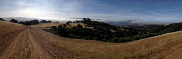 Panoramic from the Ridgeline Trail. Not too shabby!