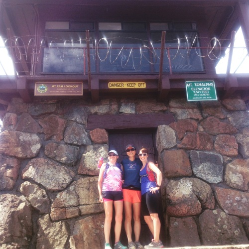 We made it to the top! (Photo courtesy of Cathryn)