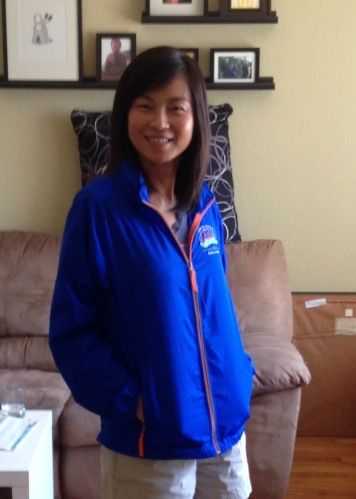 Modeling the SRM jacket. Tip: they run quite large, so opt for one size smaller.