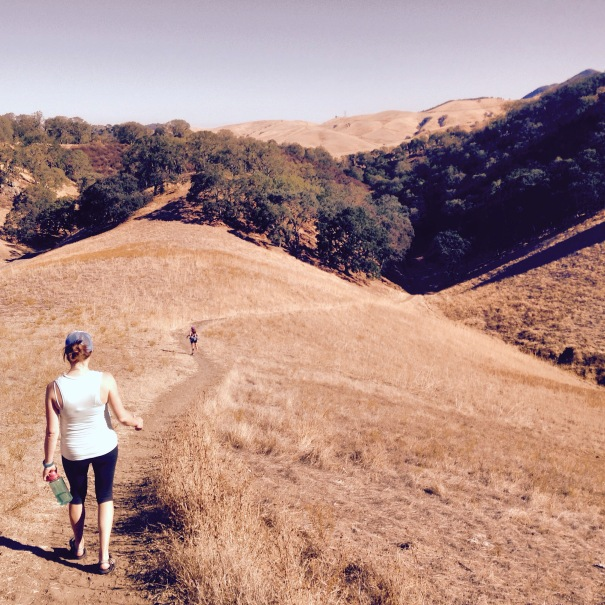 Exploring the Diablo Foothills.