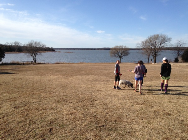 Checking out Lake McMurtry